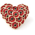 Remember Heart Brooch