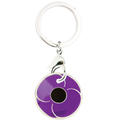 Purple Poppy Trolley Token